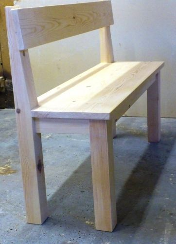 Wooden Benches With Backs