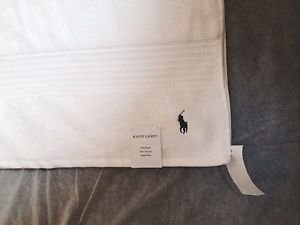 Ralph Lauren Polo Designer Luxury White Bath Sheet - BNWT- 90x170cm - RRP £75 | eBay