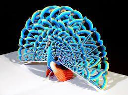 Best D Paper Images On Pinterest D Paper Paper Crafts And - Elaborate pop paper sculptures peter dahmen