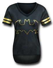 Batman Black Hockey Women's T-Shirt