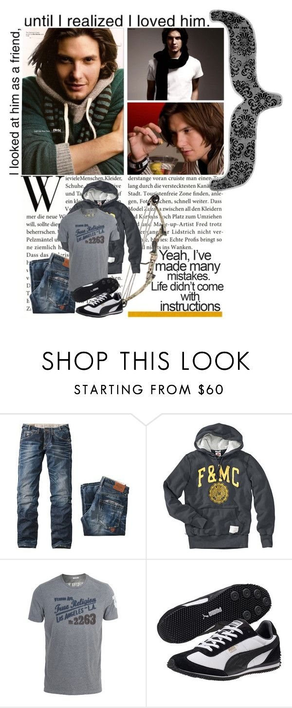 """Yeah, I've made many mistakes. Life didn't come with instructions"" by moonlightangel ❤ liked on Polyvore featuring Pepe Jeans London, Franklin & Marshall, True Religion, Puma, éS, alec lightwood, alec, ben barnes and the mortal instruments"