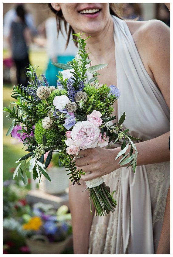 Spring wedding - Bohemian Wedding Dress Champagne Lace Wedding Dress by mimetik