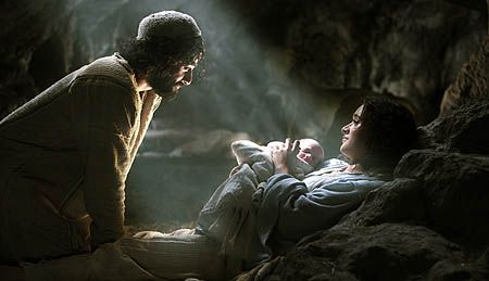 ... Mary and Joseph were all alone worshipping the Father and His newborn