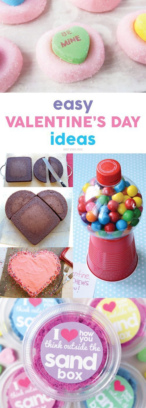 Easy Valentine's Day Ideas. Simple DIY recipes, crafts, and Valentine's gift ideas.