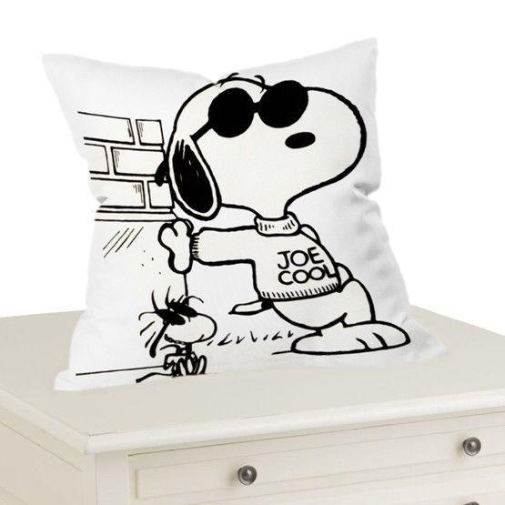 "Snoopy Joe Cool Cartoon Throw Pillow Case Cushion 16 ""18"" 20"" Cover #Handmade"