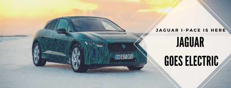 Jaguar's First Electric Utility Vehicle Is Arriving Soon!