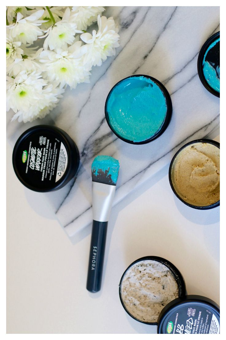 Favourite 5 fresh face masks by LUSH Cosmetics- review