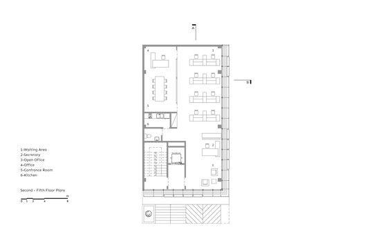White Office Building,Plan 2