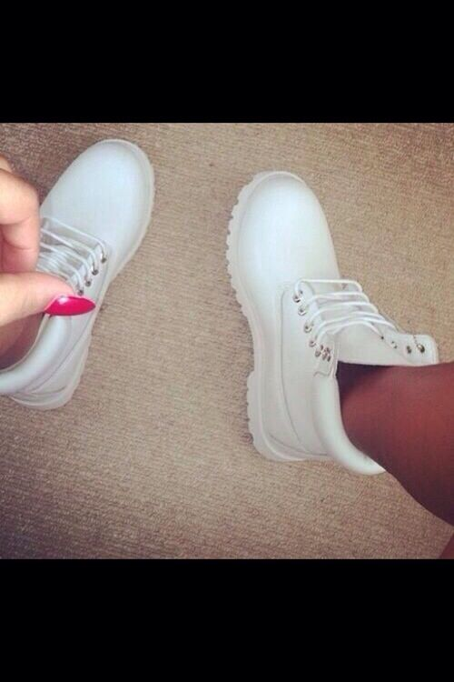 White timbs<< All I can think of is Outkast. So Fresh and So Clean, Clean