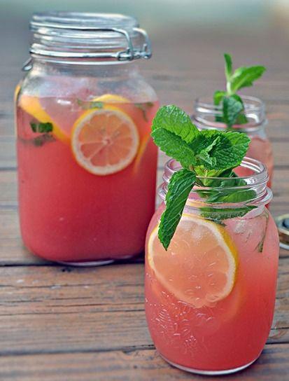 Boozy Mint Lemonade PLUS Seven Succulent Summer Cocktails!