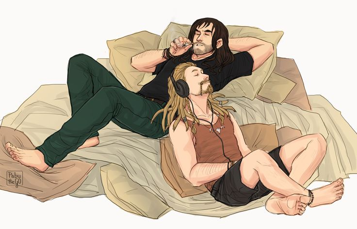 I think seeing modern and ALIVE Fili and Kili is needed after watching BoFA.