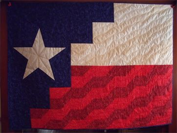 Texas Flag Quilt Pattern | Our new pattern - A TEXAS flag!