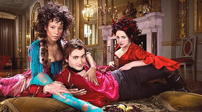 2005 - 'Casanova' David Tennant in the lead, Nina Sosanya (Bellino) and Laura Fraser (Henriette). Written by Russell T. Davies