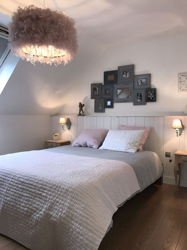 105 best Luminaires images on Pinterest Room, Home and Dining room - peindre un lit en bois