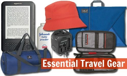 My 12 favorite pieces of travel gear.