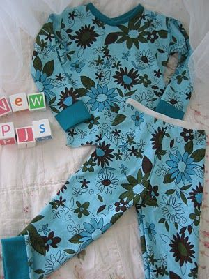 children's PJs tutorial