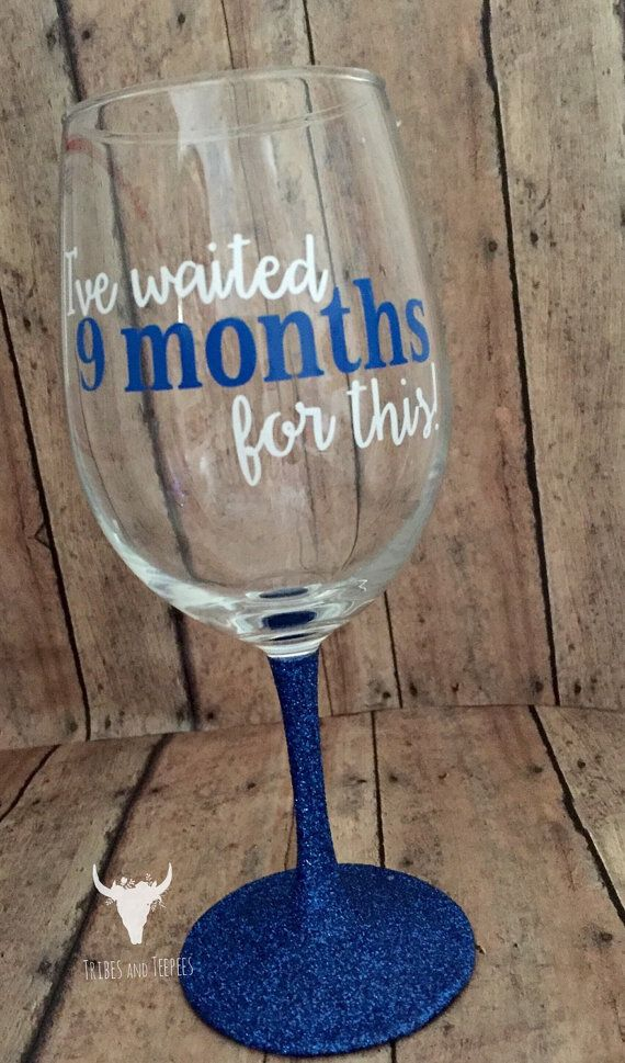 Baby Gift Ideas Using Cricut : Best ideas about wine glass on