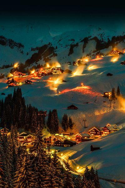 Damüls, Bregenz, Vorarlberg, Austria.