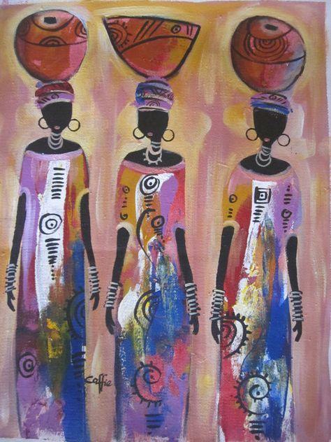 Amato Oltre 25 fantastiche idee su Dipinti africani su Pinterest | Arte  XO99