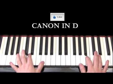 Canon in D (Pachelbel) Piano Cover by Ryan Jones absolute Favorite Tutorial