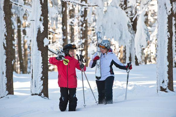 Das verschneite #Mühlviertel beim #Skifahren und #Snowboarden entdecken. Weitere Informationen zu #Skiurlaub im Mühlviertel in #Österreich unter www.muehlviertel.at/skifahren - ©Oberösterreich Tourismus/Erber