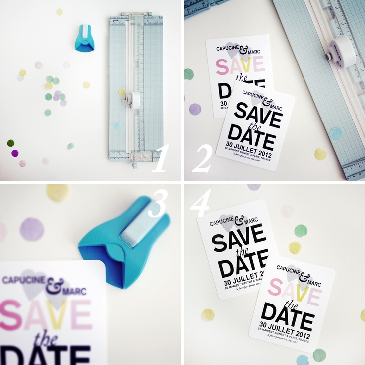 DIY -Save the date par Pugly Pixel | Blog mariage, Mariage original, pacs, déco
