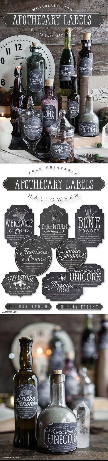 Halloween Decor Free Printable's