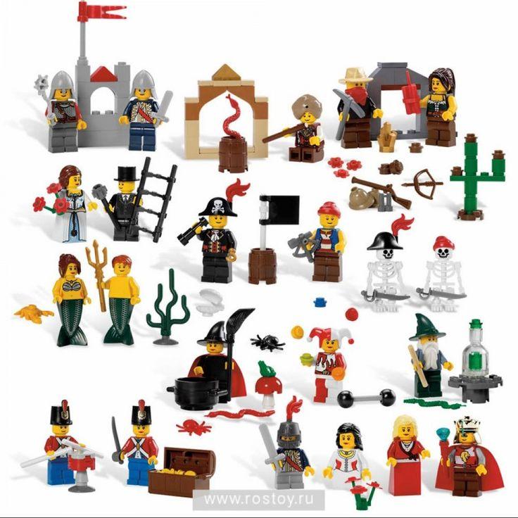 СКАЗОЧНЫЕ И ИСТОРИЧЕСКИЕ ПЕРСОНАЖИ LEGO