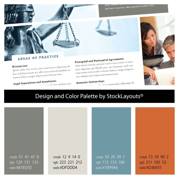 234 best Graphic Designprint collateral images on Pinterest - law firm brochure