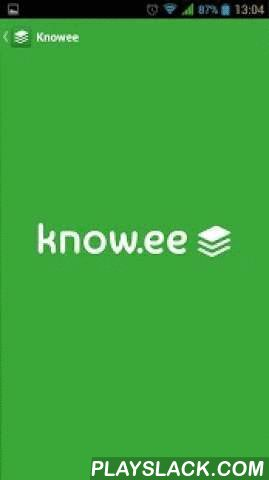 Knowee  Android App - playslack.com , WITH KNOWEE your contacts will reach you more easily that with traditional cards. Knowee cards are MORE EFFICIENT!Please, go to www.know.ee, sign up and create your cards. It's free!Know.ee IS:- A powerful manager for traditional business cards with lots of helpful modern functionality- A tool to make business card exchange easy and convenient. Save time and money and boost efficiency in networkingKnow.ee is more than:- A business card to contact…