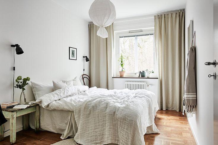 apartment by 55kvadrat.se / bedroom light tones