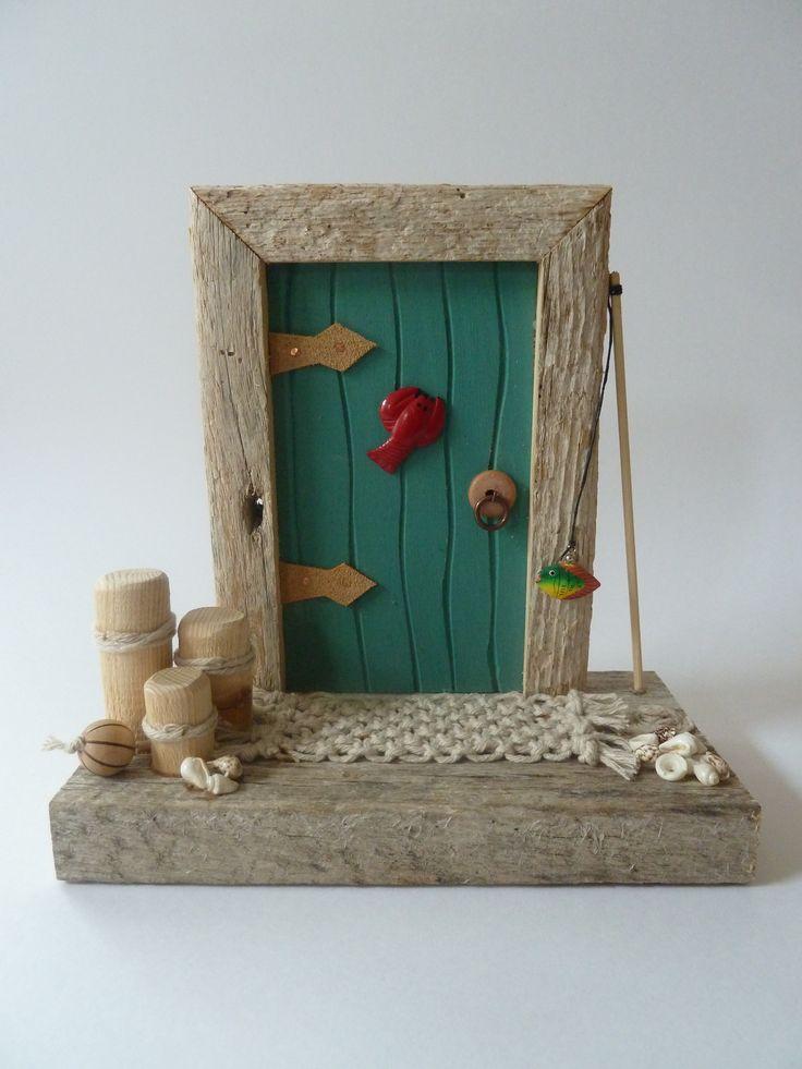 Sea shanty fairy door