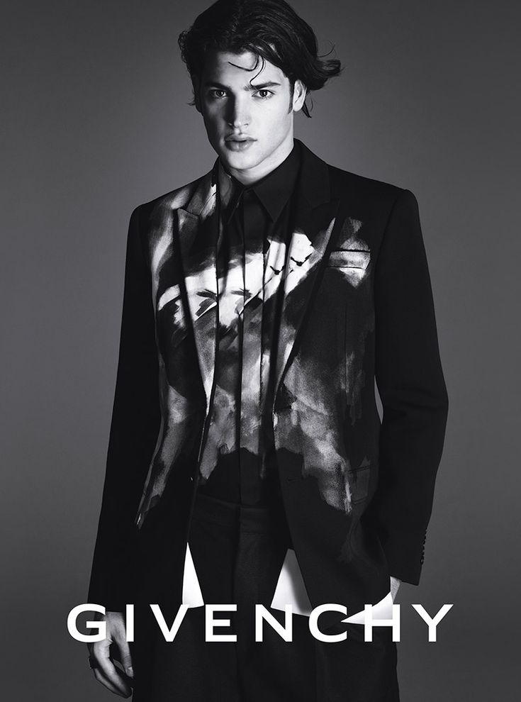 Peter Brant front the Fall/Winter 2014 campaign of Givenchy, photographed by Mert Alas & Marcus Piggott.