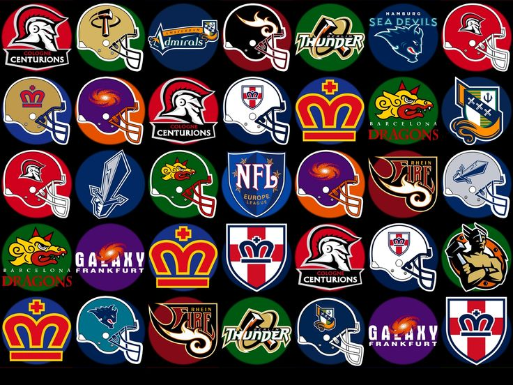 World League Football / World League 1991 to 1992; 1995 to 1997; NFL Euro Football League 1996; NFL Europe 1999 to 2007. League included Barcelona Dragons, Birmingham Fire, Frankfort Galaxy, London Monarchs, Montreal Machine, Orlando Thunder, Raliegh-Durham Skyhawks, Scottish Claymores, Rhein Fire, Amsterdam Admirals, Berlin Thunder.