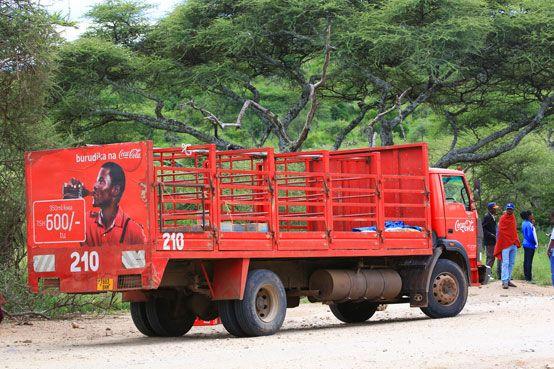 Coca Cola Truck :-), Serengeti, Tanzania