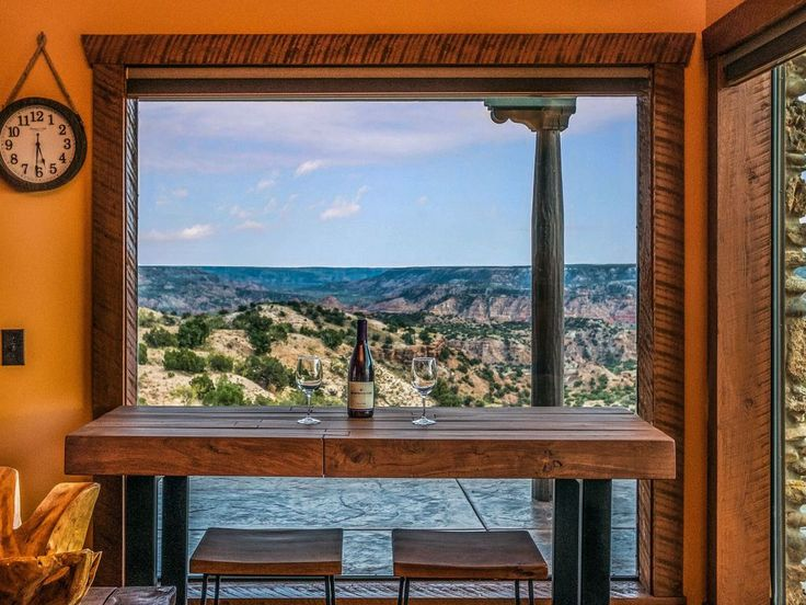 A breathtaking vista filled with dramatic light and color. El Coronado is the iconic luxury vacation cabin of Doves Rest Vacation Home Rental Resort, and we are the world's choice for creating incredible Palo Duro ...