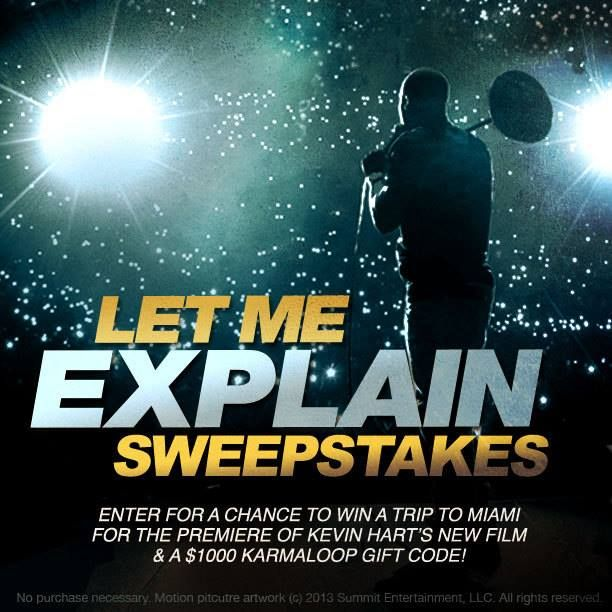 [BIG BOY CONTEST] Enter for a chance to meet Kevin Hart, trip to MIAMI, $1,000 GC