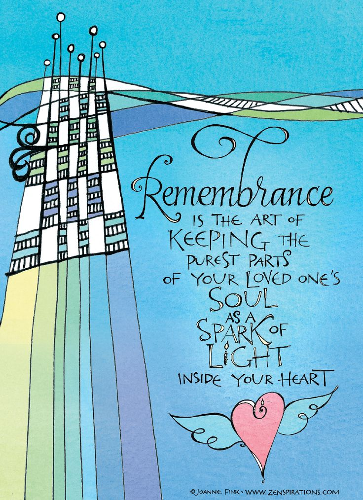 The Art Of Remembrance Is A Zenspirations I Created On