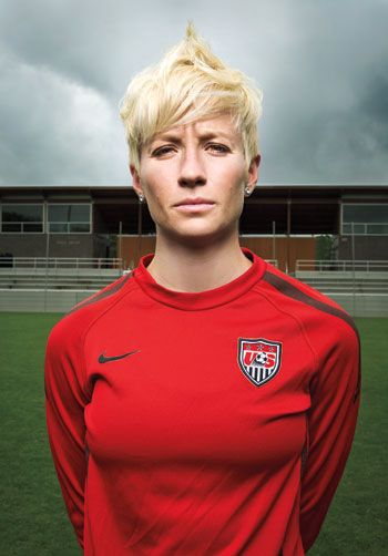 Megan Rapinoe, USWNT. My favorite US national player right now. I am excited to see the US Womens National Team in action in a tournament that matters this year in Canada