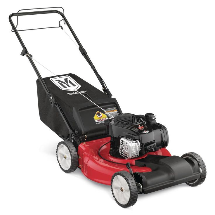 Yard Machines 21 in. 140cc OHV Briggs & Stratton Walk Behind Gas Self Propelled Mower-12A-A1BA729 - The Home Depot