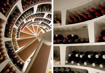 how to build a spiral cellar