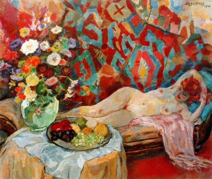 xxxelasetchbook:    Jan Sluijters, (Dutch, 1881-1957) - The Joy of Painting - 1946