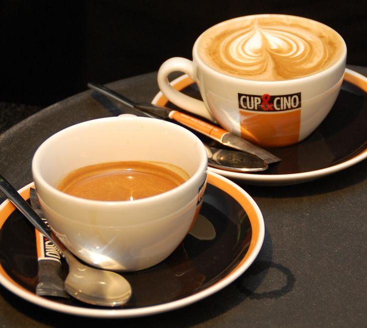 Latte Art, besonders schön, wenn die #Crema perfekt ist...