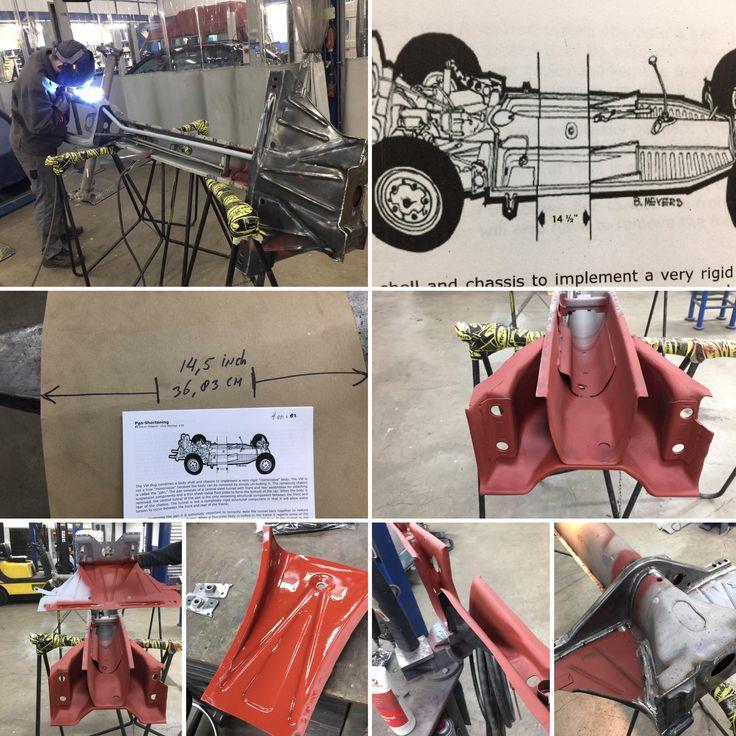 Voor een klant bouwen we op basis van een oud bestaand buggy chassis een volledig nieuwe, voorzien van versterkingen, nieuwe leidingen, in de tunnel en nog wat gadgets.  Klant gaat zelf zorgen voor de afwerking!