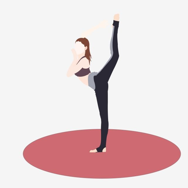 Yoga Exercise Health Movement Aerobic Exercise Girl Yoga Mat Sports Vest Sportswear Png Transparent Clipart Image And Psd File For Free Download Aerobic Exercise Aerobics Yoga Fitness