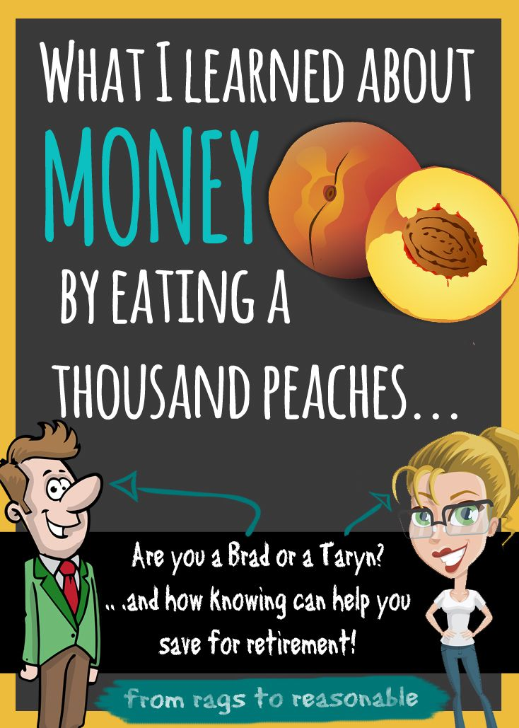 What peach season taught me about saving for retirement, and the dangers of…