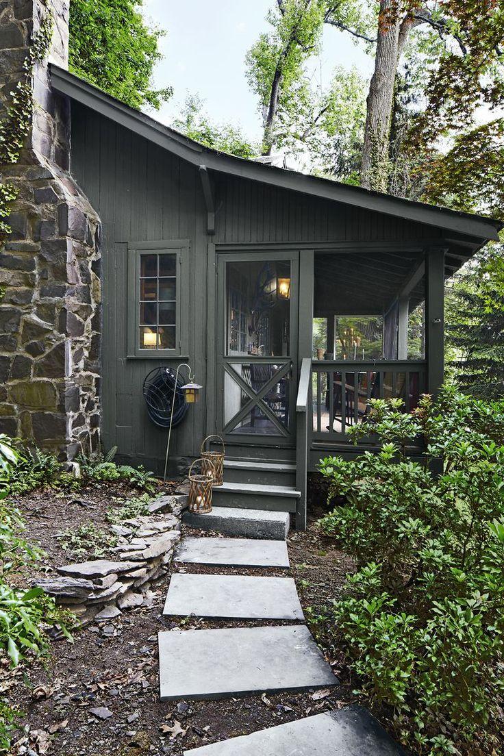 Take a Peek Inside Danny Seo's Tiny Home - Small Cabin Decorating Ideas