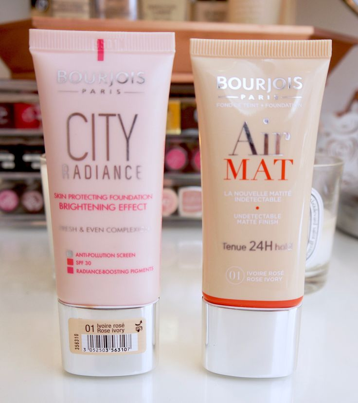 Bourjois City Radiance & Air Mat If you combine those, you'll have THE best foundation ever