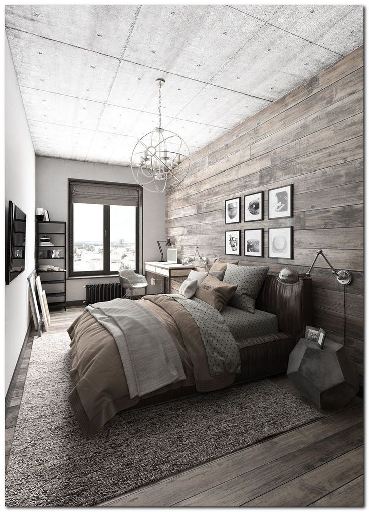 Superbe Home » Industrial Chic Bedroom. Everyone Had Expectations Of Having A  Luxury Fantasy Home And In Addition Excellent Yet Along With Confined  Resources As ...