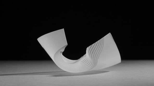 Traces, Physical programming of freeform folding in soft matter.